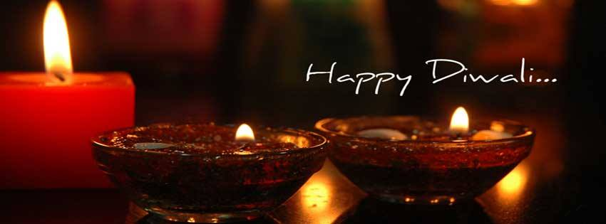 Happy Diwali Facebook Cover Greetings For Mobile