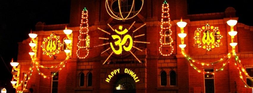 Happy Diwali Facebook Cover Images For Desktop