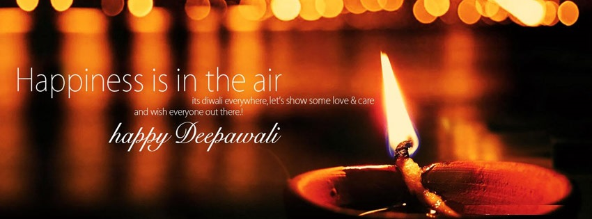 Happy Diwali Facebook Cover Pics 2019