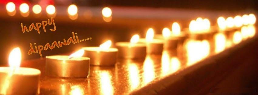 Happy Diwali Facebook Cover Pics Free Download
