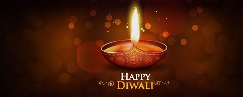 Happy Diwali Facebook Cover Pics