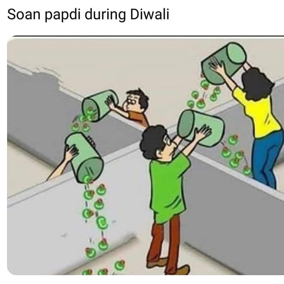 Happy Diwali Funny Greetings Free Download