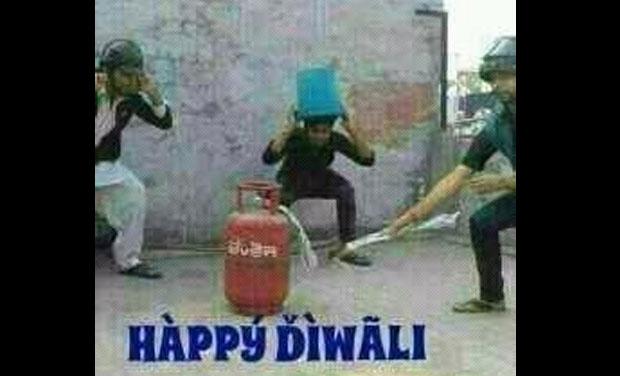 Happy Diwali Funny Greetings