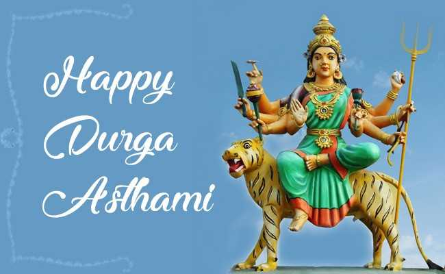 Happy Durga Ashtami 2019 Hd Wallpaper For Mobile