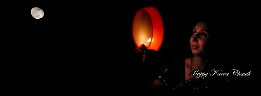 Happy Karva Chauth FB Cover Free Download