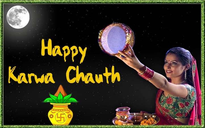 Happy Karwa Chauth 2019 Hd Greetings For Desktop