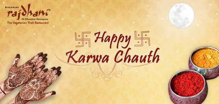 Happy Karwa Chauth Facebook Cover