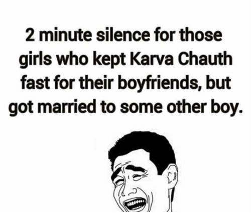 Happy Karwa Chauth Memes For Girlfriend