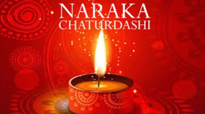 Happy Narak Chaturdashi Hd Greetings Free Download