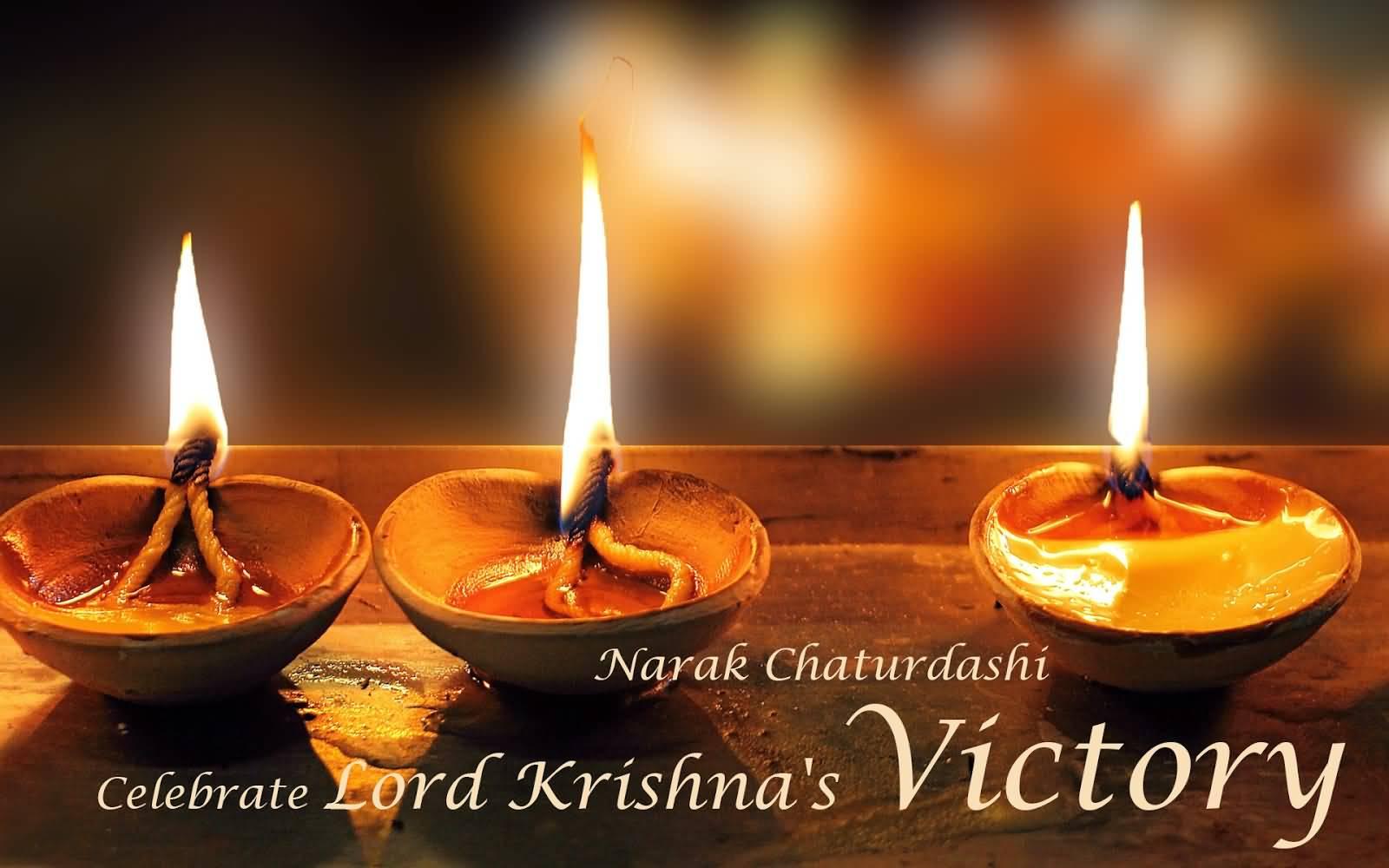 Happy Narak Chaturdashi Hd Images Free Download