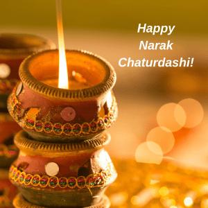 Happy Narak Chaturdashi Hd Wallpaper For Desktop