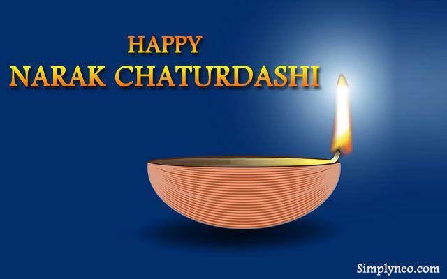 Happy Narak Chaturdashi Hd Wallpaper For Facebook