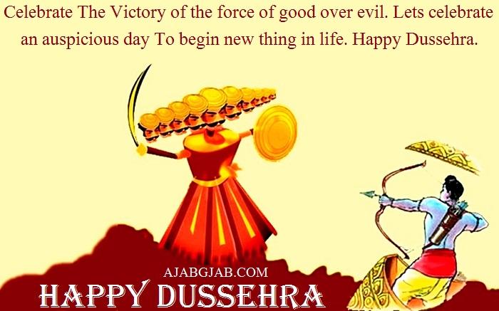 Latest Dussehra Status In English