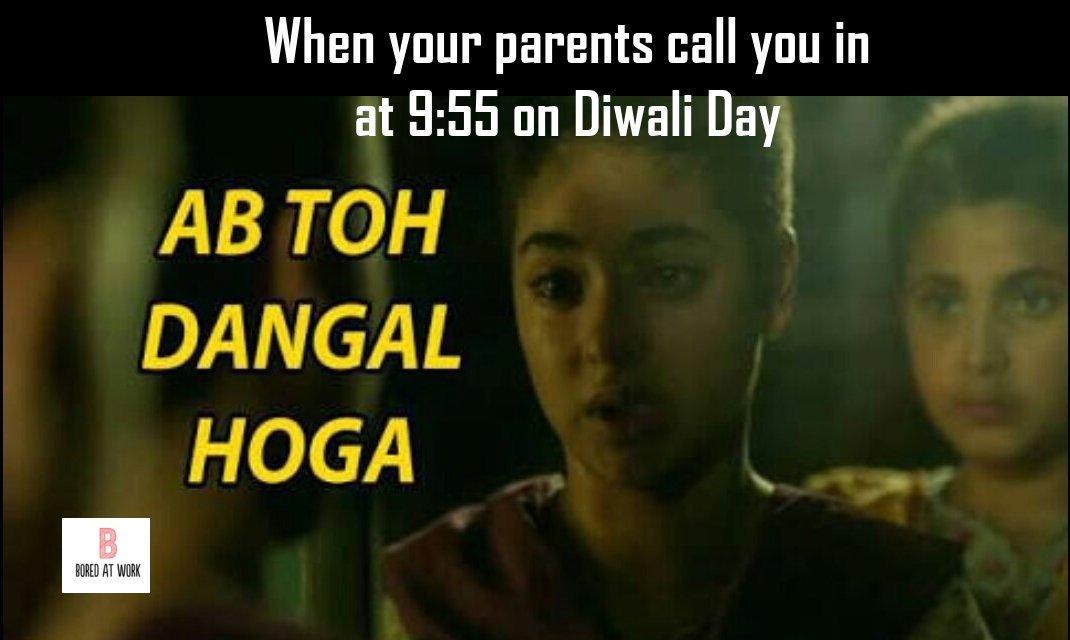 Latest Happy Diwali Funny Wallpaper 2019