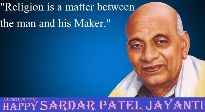 Sardar Patel Jayanti WIshes In English