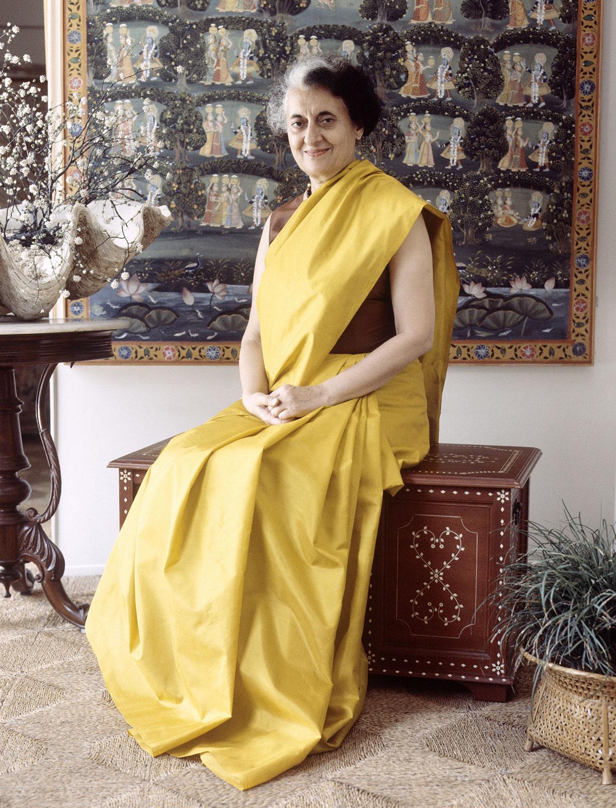 Indira Gandhi Hd Greetings For WhatsApp