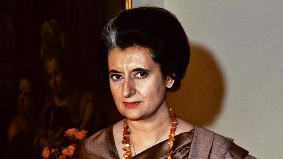 Indira Gandhi Hd Greetings