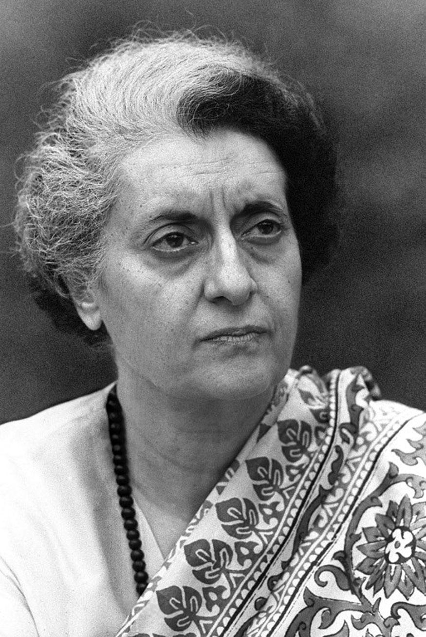 Indira Gandhi Hd Wallpaper