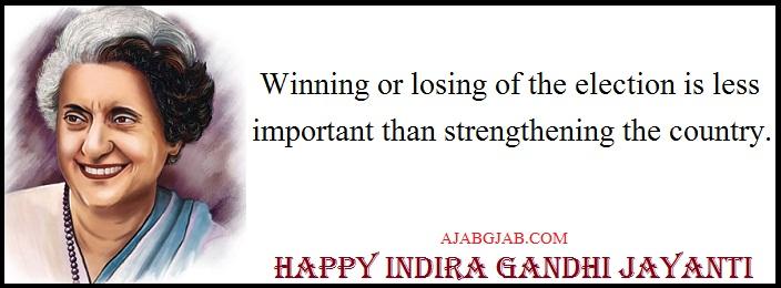Happy Indira Gnadhi Jayanti Hd Wallpaper For Facebook