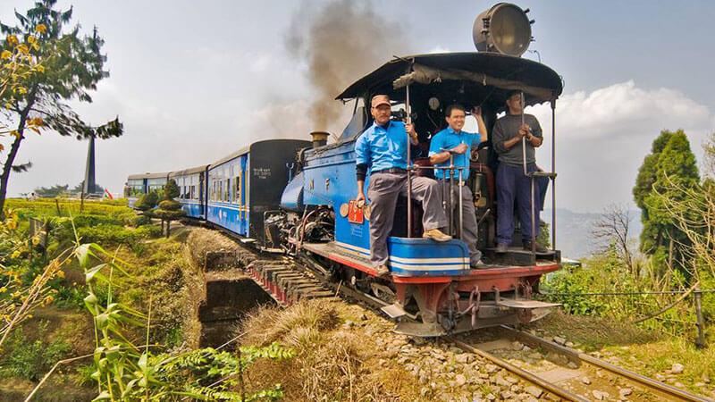 Train Ride at Darjeeling