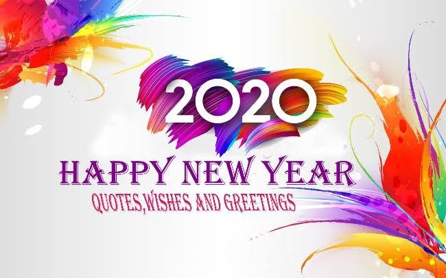 Happy New Year 2020 Geetings