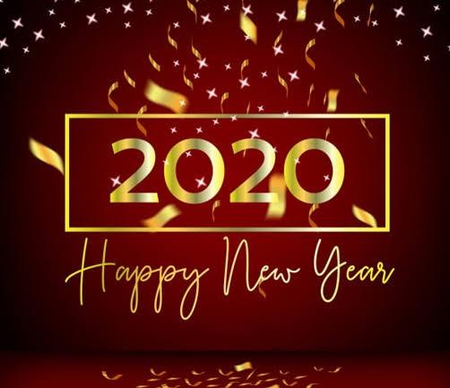 Happy New Year 2020 Hd Wallpaper For Desktop