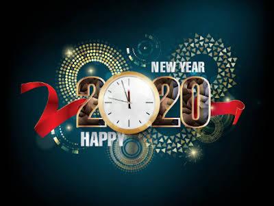 Latest Happy New Year 2020 Hd Wallpaper