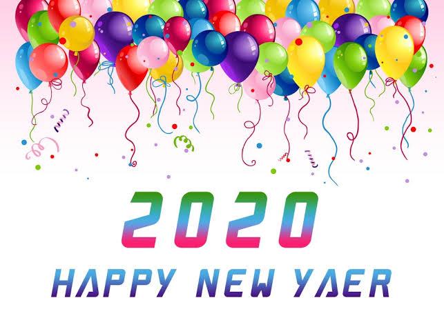Latest Happy New Year 2020 Wallpaper