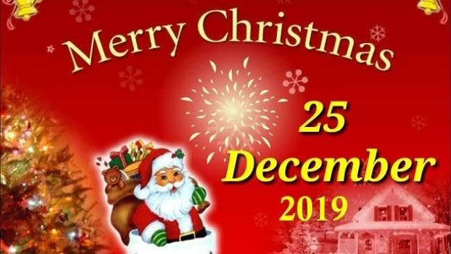 Happy Christmas 2019 Hd Greetings For Desktop