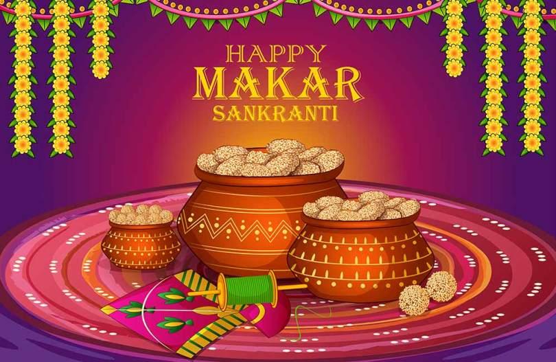 Happy Makar Sankranti 2020 Hd Wallpaper