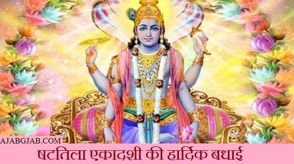 Happy Shattila Ekadashi Status