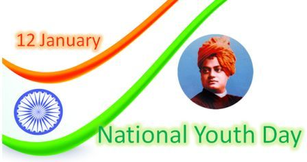 National Youth Day Wallpaper