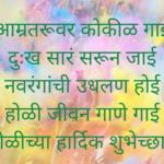 Holi Shayari In Marathi