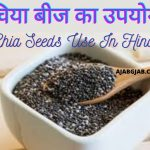 Chia Seeds Use And Recipe In Hindi