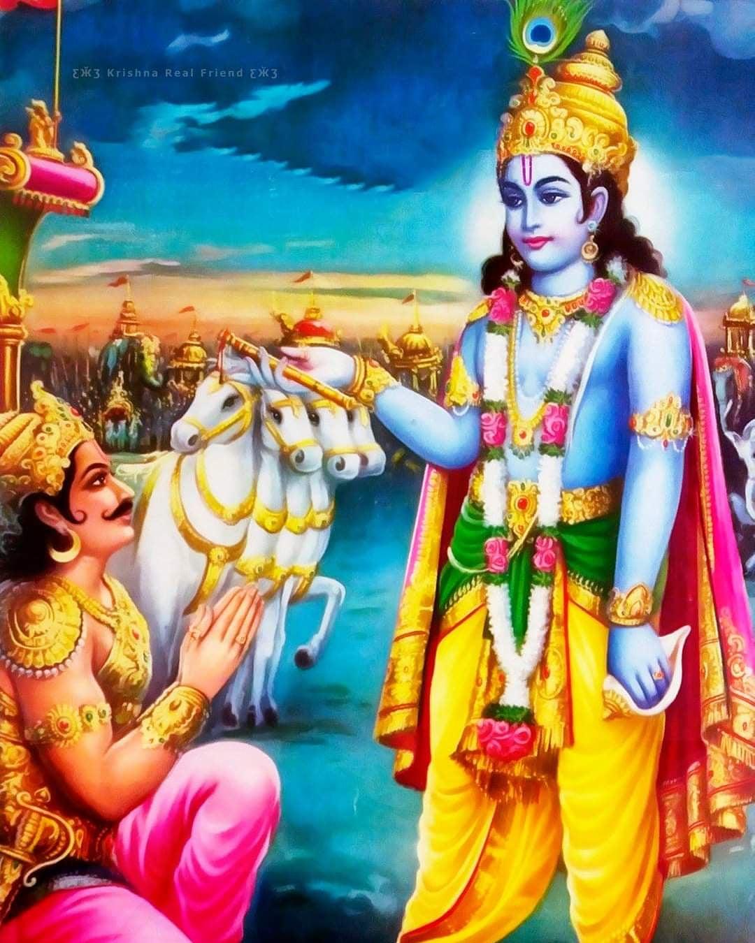 Krishna HD Wallpaper
