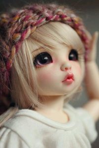Cute Doll Picture for Facebook