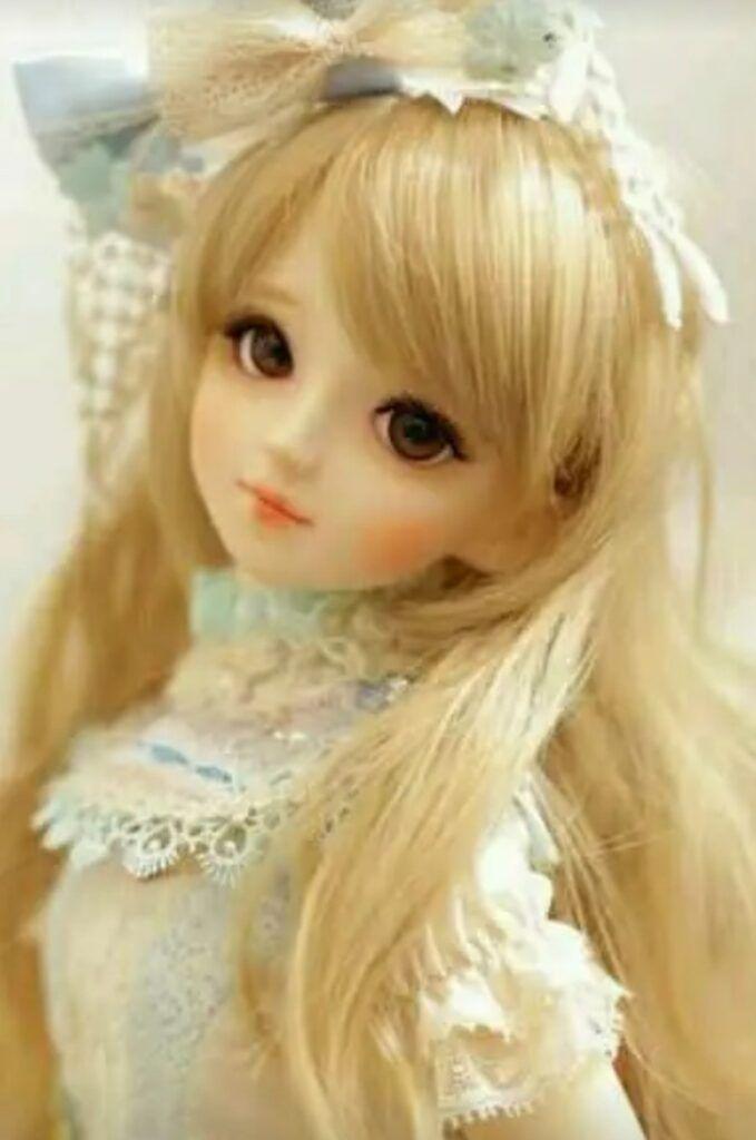 Cute Doll DP for Facebook