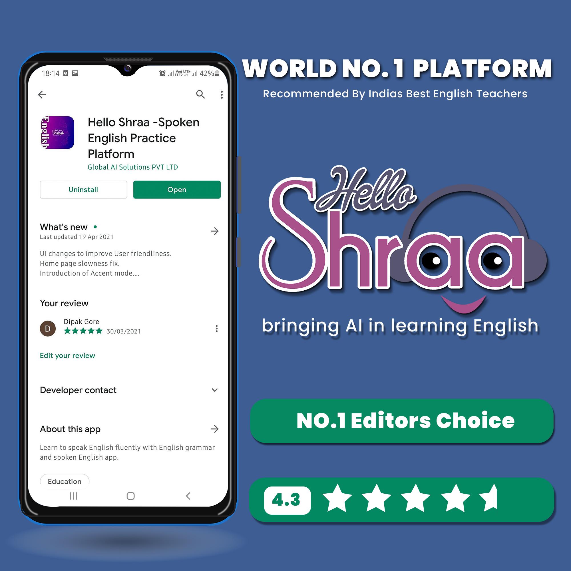 Best Spoken English App